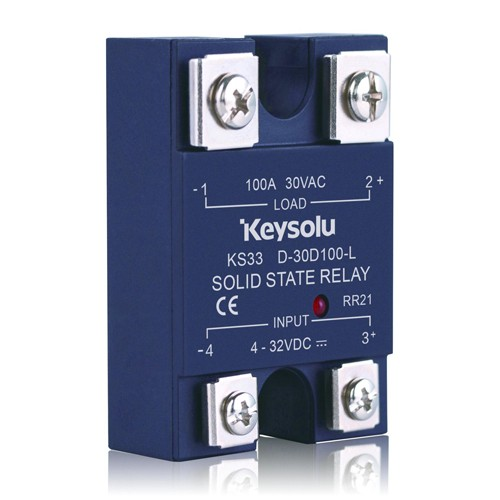 KS33 SSR Panel Mount-DC Output