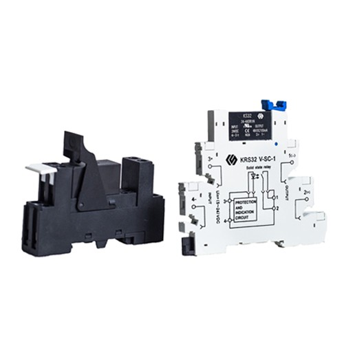 KS32 DC SSR DIN Rail Mount