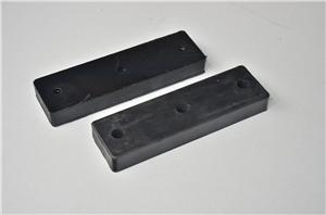 Brick clamp rubber block