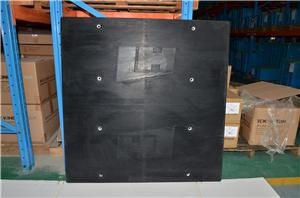 Rubber vulcanizing plate