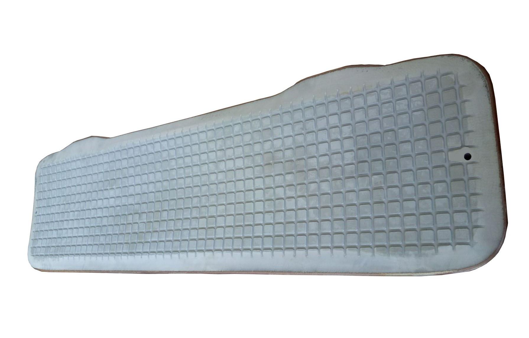 Paper roll rubber splint