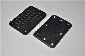 Carton clip rubber splint-