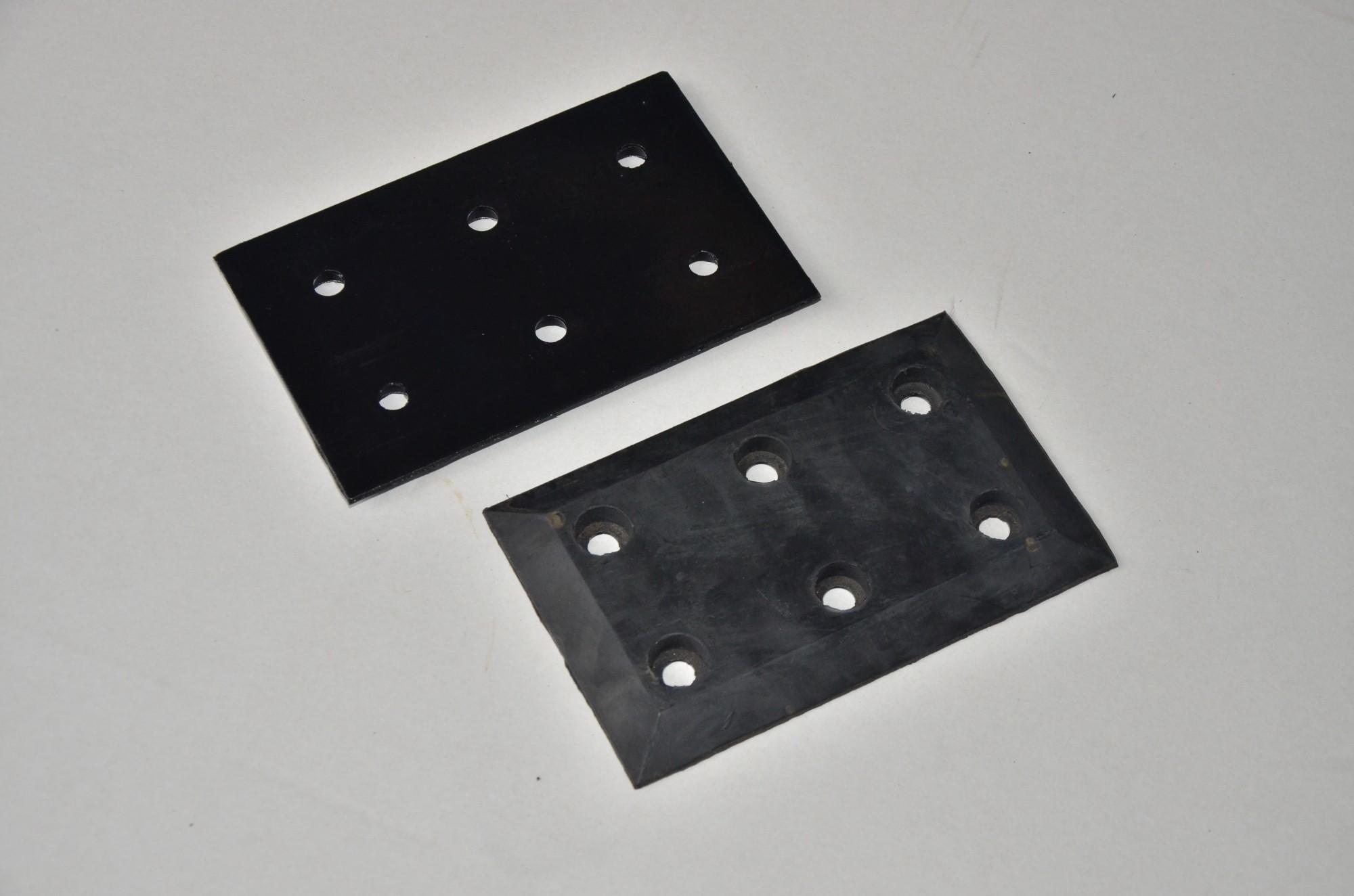 -Carton clip rubber splint-