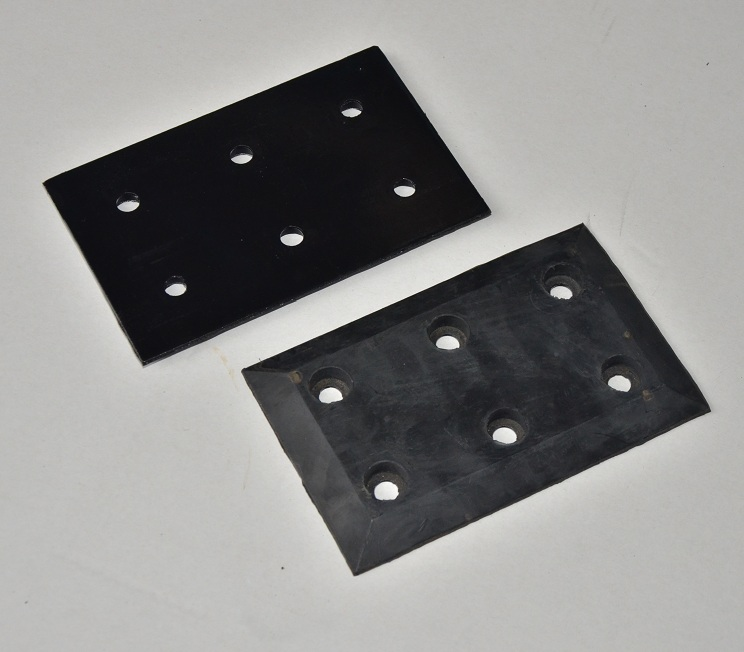Carton rubber splint