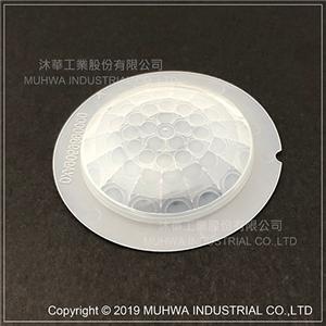 Fresnel Lens With Flange