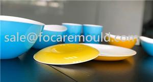 Two-Color Plastic Plates Injection Molds