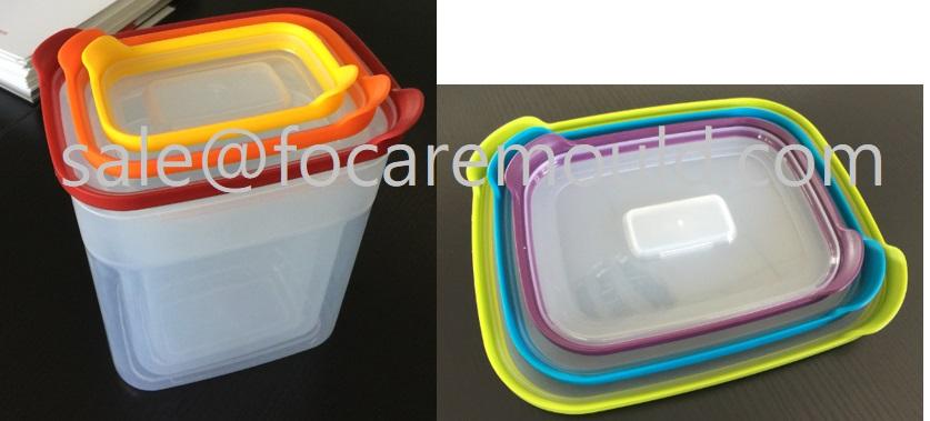 double color plastic mould