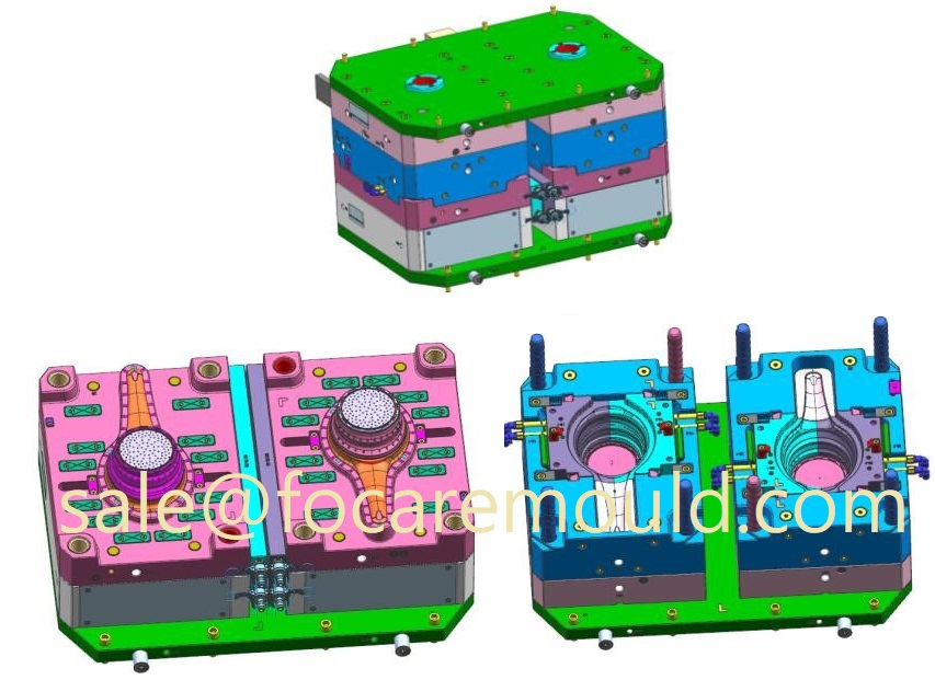 two-color collapsible strainer moulds