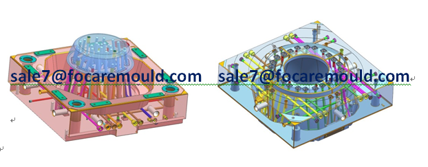 Multi Color Injection Molds