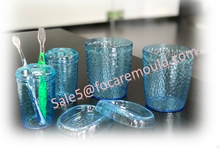 Natural Stone Glassy Plastic Cup Injection Mould
