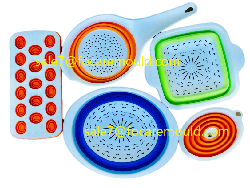 collapsible strainer mould