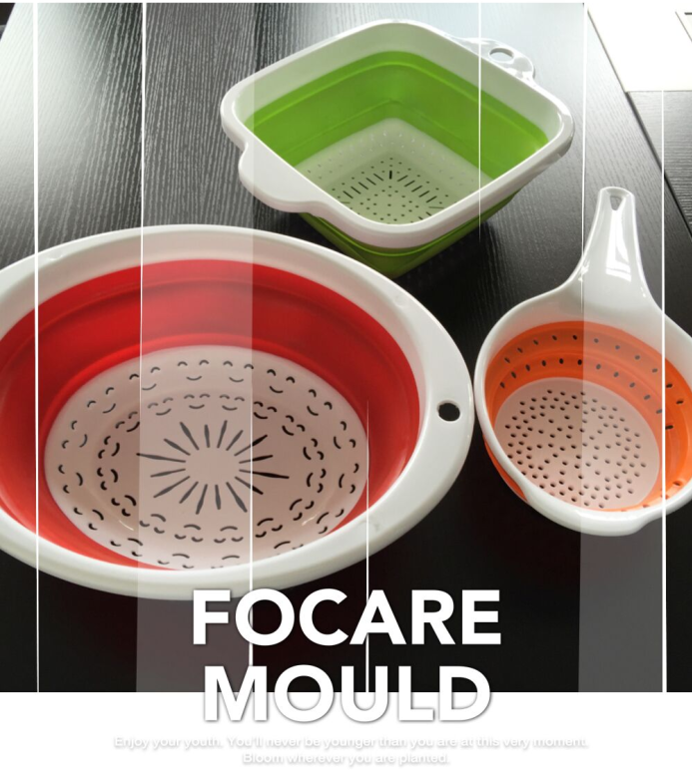High quality Two-Color Collapsible Strainer Plastic Injection Mould Quotes,China Two-Color Collapsible Strainer Plastic Injection Mould Factory,Two-Color Collapsible Strainer Plastic Injection Mould Purchasing