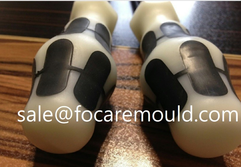 Two-Component Screwdriver Handle Plastic Injection Mould
