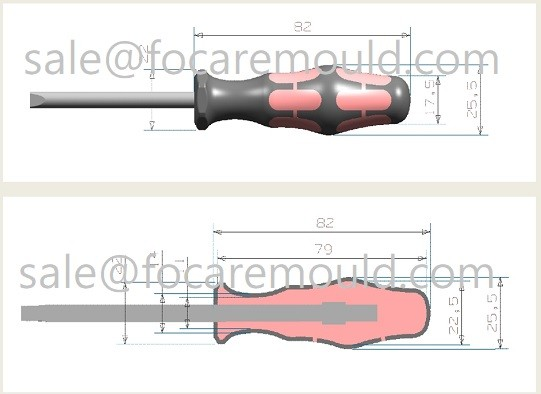High quality Two-Component Screwdriver Handle Plastic Injection Mould Quotes,China Two-Component Screwdriver Handle Plastic Injection Mould Factory,Two-Component Screwdriver Handle Plastic Injection Mould Purchasing