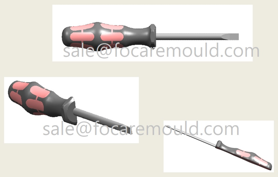two-color tool handle mould