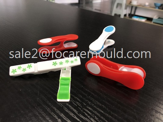 Two-Components Plastic Clothes Pins