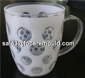 Two-Color Plastic Football Cup Injection Mould