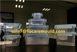 Two-Color Plastic Lid Injection Mould of Freshness Food Containers