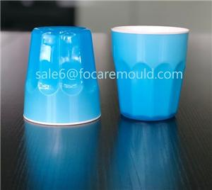 Double Color Plastic Gradient Cup Injection Mould