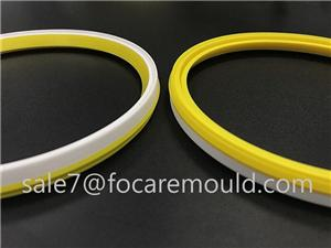 Double Color Seal Ring of SWP Pipe Fittings Plastic Injection Mould