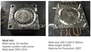 Disposable Cutlery Plastic Injection Mould