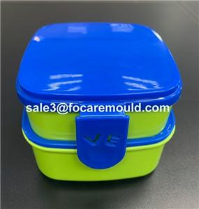 Plastic Lunch Box Injection Mould