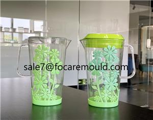 Two-Color Flower Design Jug Plastic Injection Mould
