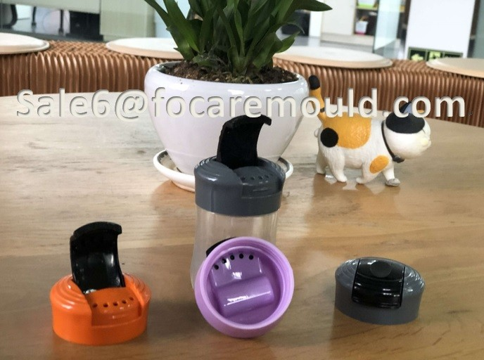 Plastic Salt Shaker Cap Injection Mould