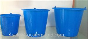 20L Water Bucket Plastic Injection Mold