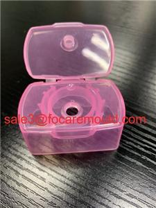 Square Flip Top Sampoo Cap Plastic Injection Mould