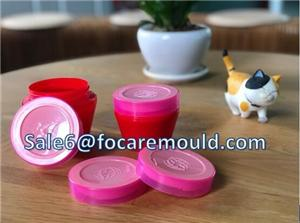 Double Color Cosmetic Cap Plastic Injection Mould