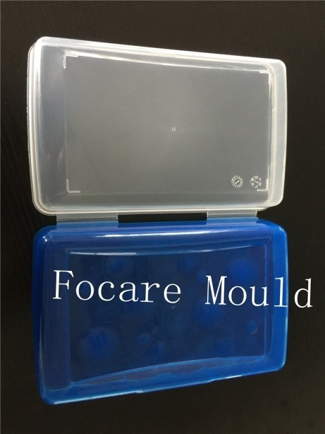 Double Color Clear Plastic Box Mould