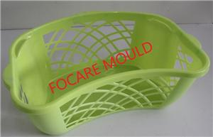 48L Laundry basket Plastic Injection Mould
