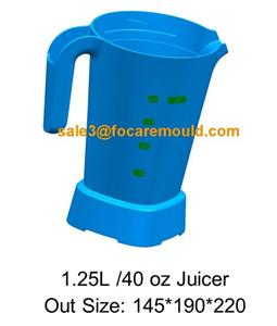 1L Juice Blender Plastic Injection Mould