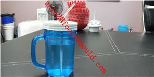 Straw Handle Cup Plastic Injection Mould