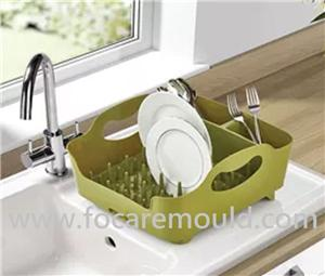 16 Holes Plastic Dish Rack Injection Mould