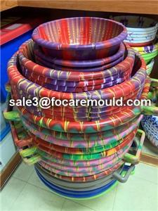 Multi-color Basin Plastic Injection Mould