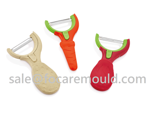 Two-Color Peeler Plastic Injection Mould