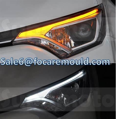 Double Color Car Light Mold