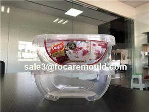 1L Ice Cream Oval Thin-Wall Container Mold