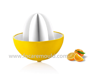 Two-color Citrus Squeezer Plastic Injection Mold
