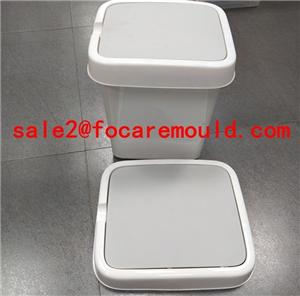 Swing Cover of Dustbin Plastic Injection Mould