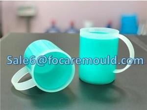 Double Color Drinking Cup Plastic Injection Mould