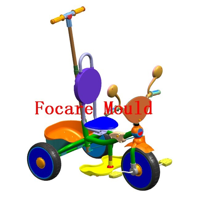 Kids Tricycle Plastic Injection Mould