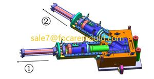 Plastic Pipe Fitting Plastic Injection Mould