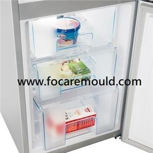 Refrigerator drawer plastic injection mold