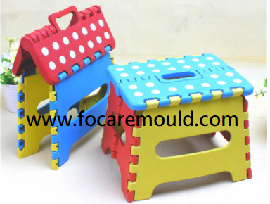 Foldable stool plastic injection mold