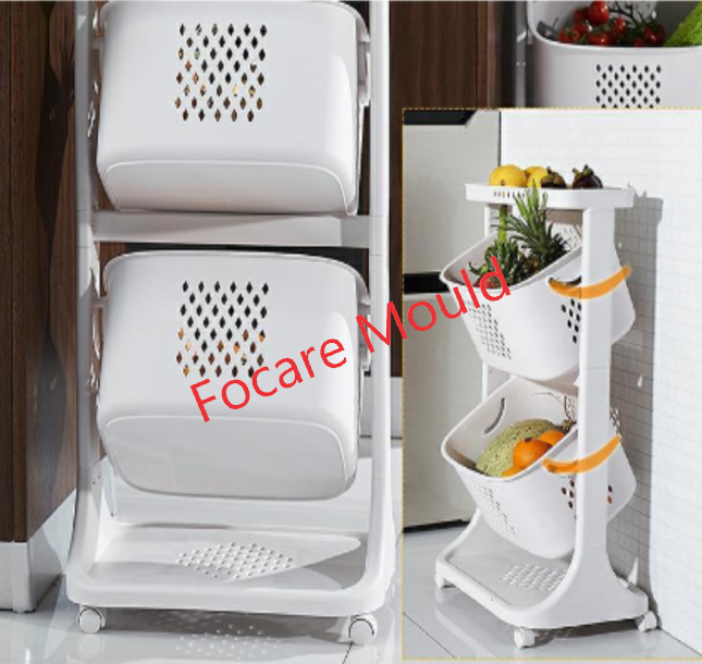 High quality Plastic kitchen vegetable and fruit storage trolley mould Quotes,China Plastic kitchen vegetable and fruit storage trolley mould Factory,Plastic kitchen vegetable and fruit storage trolley mould Purchasing