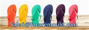 PVC 2-Color Band of Slipper injection molud