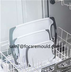 Two-color chopping board plastic injection mold